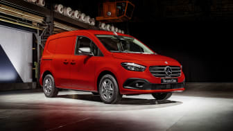Nya Mercedes-Benz Citan: premiärvisad med både eldrift och förbränningsmotor