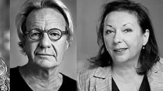 Fr vänster Anna Benjamin, Lennart Grebelius, Véronique Lönnerblad
