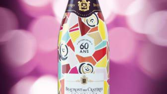 60-årsjubileum för elegant champagne!