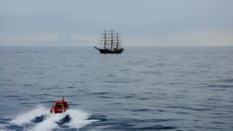 Samarbejdet med skoleskibene er en vigtig del af ESVAGTs rekrutteringsarbejde.