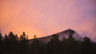 Hovärkens topp en sommarkväll Foto: Martin Olson