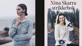 I Nina Skarra strikkebok får du 29 unike Nina Skarra-design du kan strikke selv