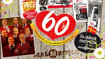 Malmborgs väljer Eminent för 60-års kampanj