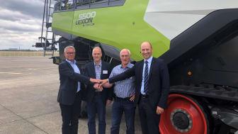 Pressefoto Bergan Maskinsalg og Norwegian Agro Machinery