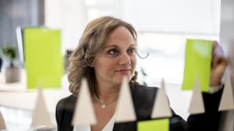 Susanne Holmström, VD NetOnNet, planerar NetOnNets framtid