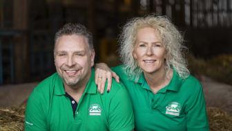 Lena och Magnus, Nibble gårdsgris - vinnare i Årets klimatbonde