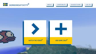 Sverigekampanjen Democreativity tog silver i Årets digitala kampanj