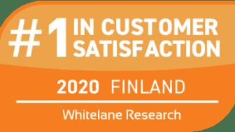 TCS:llä tyytyväisimmät asiakkaat Suomessa jo neljännen kerran peräkkäin