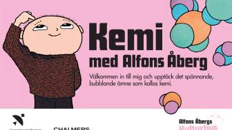 """Pressinbjudan till invigning av """"Kemi med Alfons Åberg"""""""