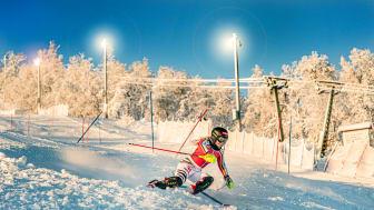 Många nationaliteter inom den alpina eliten tränar i Ramundberget – uppskattar effektiviteten på anläggningen.