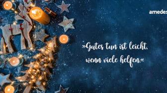 amedes Weihnachtsspende geht erneut an Deutsche Stiftung Eierstockkrebs