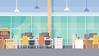 Öka trivseln i kontorslandskapet