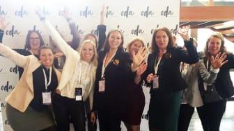 KVINNENETTVERK: Sopra Steria jobber mye med å synliggjøre kvinnelige ansatte eksternt, for å inspirere og motivere andre kvinner til å velge IT
