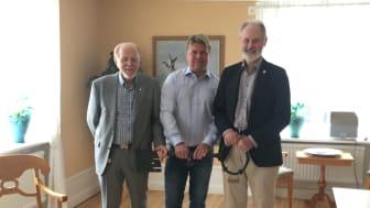 Sune Alm, Mikael Teurnberg, Nils Matsson
