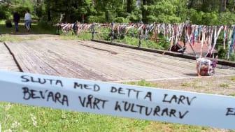 Jerle Stadsförening har stort och brett stöd för att Järle kvarndamm ska få vara kvar och utvecklas.