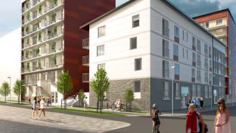 Stark försäljning av nya bostadsrätter för HSB Göteborg