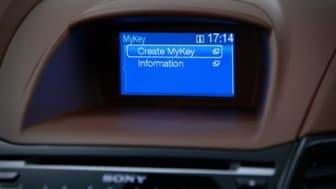 Nye Ford Fiesta først med MyKey i Europa; Lar foreldre til unge bilførere bestemme toppfart og lydvolum.
