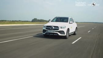 The Mercedes GLE was the overall highest scorer in the new Assisted Driving Grading
