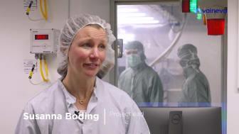 Valnevas Covid-19 vaccinkandidat - en titt på produktionen i Sverige
