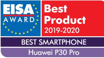 Huawei P30 Pro utses av EISA som Best Smartphone 2019-2020