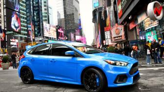 Ford avslöjar prestandasiffror och pris på nya Focus RS!
