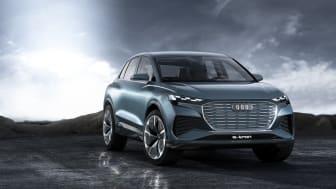 Audi viser endnu en elbil – Q4 e-tron concept