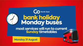 Summer Bank Holiday Buses – 31 August 2020