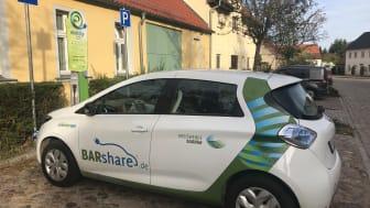 Mit BARshare kann man elektrisch durch Brandenburg fahren. Foto: TMB-Fotoarchiv/Matthias Schäfer.