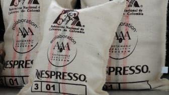 Nespresso AAA Sustainable quality program coffee bags