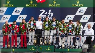 Ford återupprepade mirakelsegern i Le Mans från 1966 år 2016.