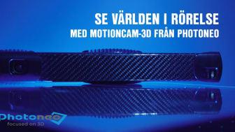 Se världen i rörelse med MotionCam-3D från Photoneo