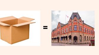 Bankens verksamheter på Kungsgatan i Lindesberg flyttar temporärt till Nora.