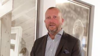 Martin Gustafsson, ny KAM för Region syd och väst på Woody Bygghandel.