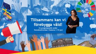 Pressinbjudan: tillsammans kan vi förebygga våld i Dalarna!