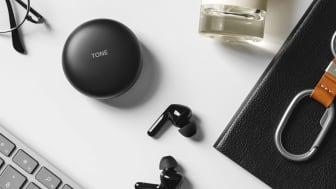LG:n uudet itsepuhdistavat nappikuulokkeet tarjoavat ensiluokkaisen Meridian Audio -äänentoiston