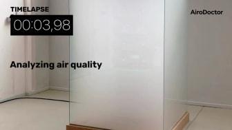 AiroDoctor Aerosol Chamber Test