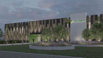 Wihlborgs bygger nytt till MilDef i Helsingborg