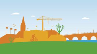 Presskonferens i samband med stadsbyggnadsnämnden i Karlstads kommuns möte den 11 november, 2020.
