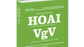 HOAI Honorarordnung für Architekten und Ingenieure – VgV Verordnung über die Vergabe öffentlicher Aufträge