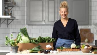 Stjärnkocken Frida Ronge i samarbete med Linas Matkasse – ska lära svenskarna att laga japanskt