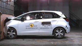 Honda Jazz - Full Width Rigid Barrier test 2020