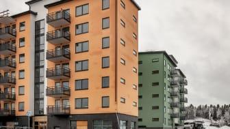 Många unga förstagångsköpare valde Ikano Bostads bostadsrättsprojekt Brf Tindra i Vega i Haninge.