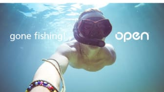 Summer greetings from Open. We are closed right now but reopen for business on Monday, July 31st.