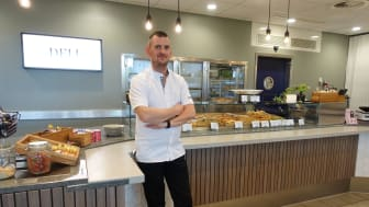 Johnny Sandberg, restaurangchef på Sodexos Restaurang Oazen