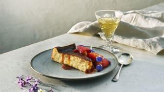 Västerbottensost Nationaldag dessert stående