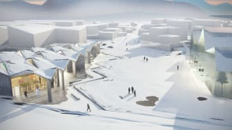 Suluk Learning Center in Nuuk, Greenland. MDH Arkitekter.