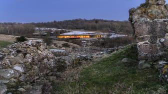 Det nye besøgscenter ved Hammershus