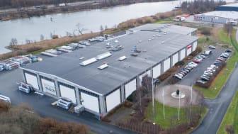 Alnovas huvudkontor och tillverkning i Göteborg