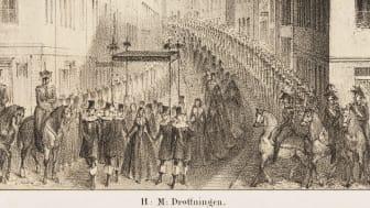 Dödens teater. Kungliga begravningar från Gustav Vasa till Gustaf V