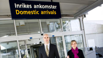 Fler väljer flyget till Stockholm